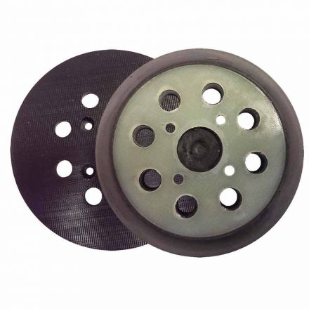 "Superior Pads and Abrasives RSP28 5"" Dia 8 Hole Hook & Loop Sander Pad Replaces Milwaukee OE # 51-36-7090"