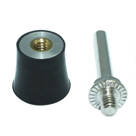 """Superior Pads and Abrasives SPD01 1"""" Twist Lock Spindle Disc"""