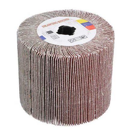Superior Pads and Abrasives AW-180F Aluminum Oxide Nylon Flap Wheel - 180 Grit