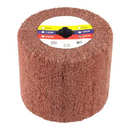 Superior Pads and Abrasives AW-320 Elastic Grain Coated Non Woven Nylon Web Wheel - 320 Grit