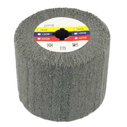 Superior Pads and Abrasives AW-600 Elastic Grain Coated Non Woven Nylon Web Wheel - 600 Grit
