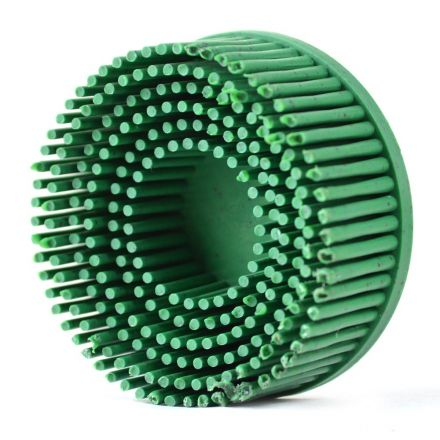 Superior Pads and Abrasives BD2050 Bristle Disc, Grade 50, Diameter 2 Inch - Green Color