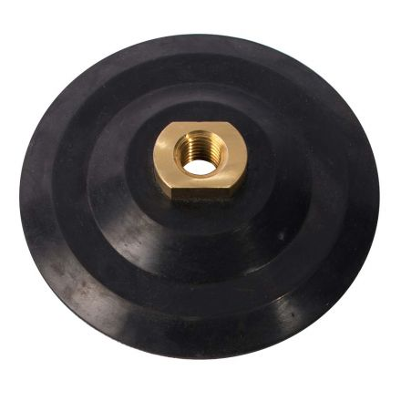 """Superior Pads and Abrasives PP50 5"""" Backer Pad for Diamond Polishing, 5/8""""x11 Threads"""