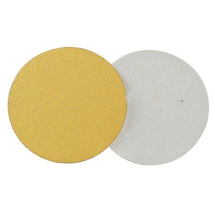 Superior Pads and Abrasives SD508P 150 Grit 5 Inch Diameter No-Hole PSA Sanding Paper - 25/Pack (Ceramic Aluminum Oxide)