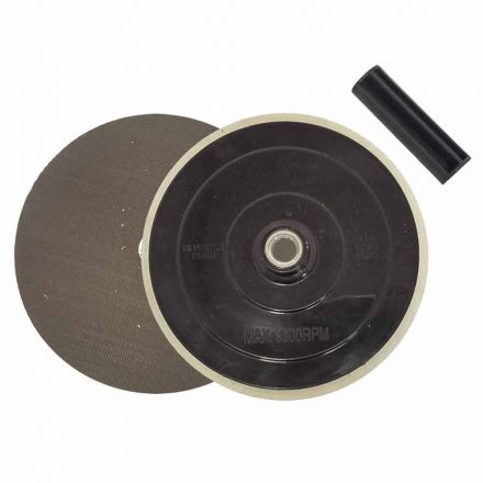 """Superior Pads and Abrasives RSP35 7"""" Dia x 5/8""""-11 UNC  Hook & Loop Sanding Pad - with center hole & alignment guide replaces Makita OE #743052-5"""