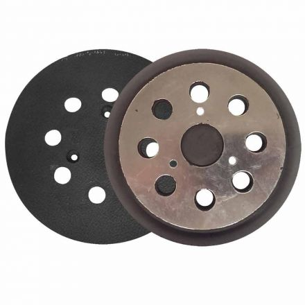 """Superior Pads and Abrasives RSP36 5"""" Dia 8 Vacuum Holes PSA/Adhesive Backing Pad replaces Dewalt 151281-09, 151281-00 and 151281-07"""